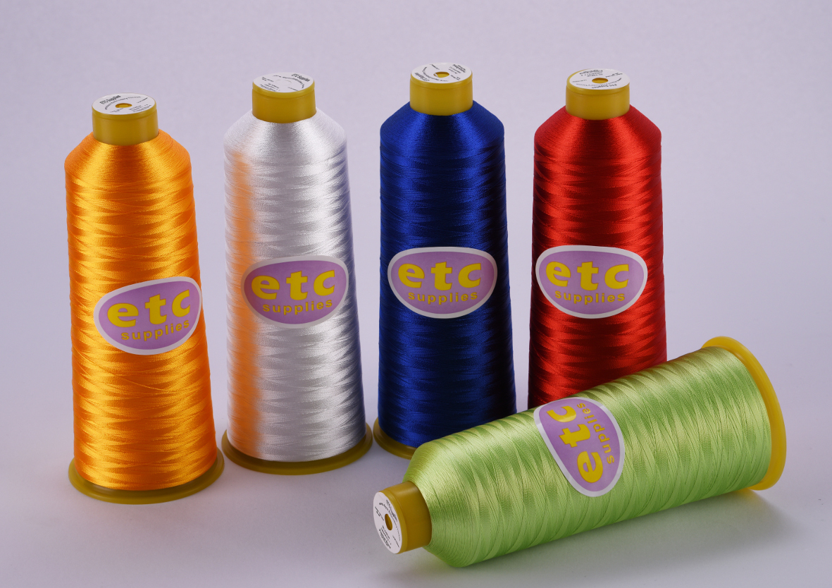 Embroidery Threads 1000 Mtr Etc Premium Polyester Embroidery